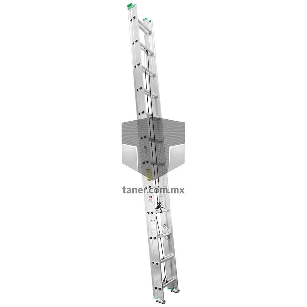 Venta-de-Anaqueles-TANER-Ciudad-de-Mexico-CDMX-Escalera-Extension-de-Aluminio-24Escalones-01