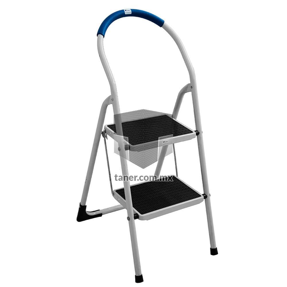 Venta-de-Anaqueles-TANER-Escalera-Practica-De-Acero-2-Escalones-01