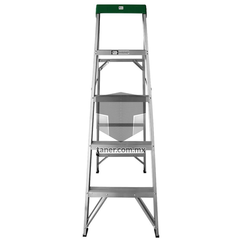 Escalera Tijera Aluminio 4 Escalones  Básica