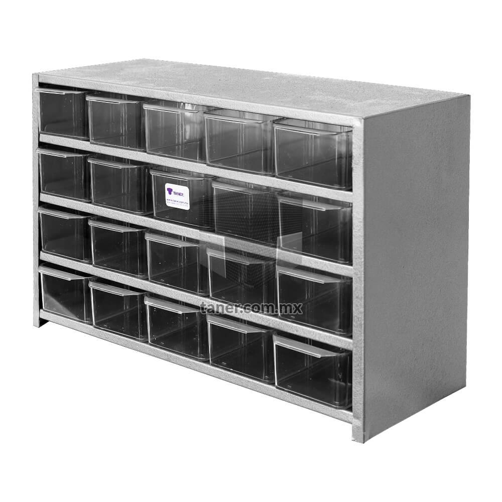 Venta-de-Anaqueles-TANER-Organizadora-de-Espacios-CDMX-Anaquel-De-20-Cajas-02
