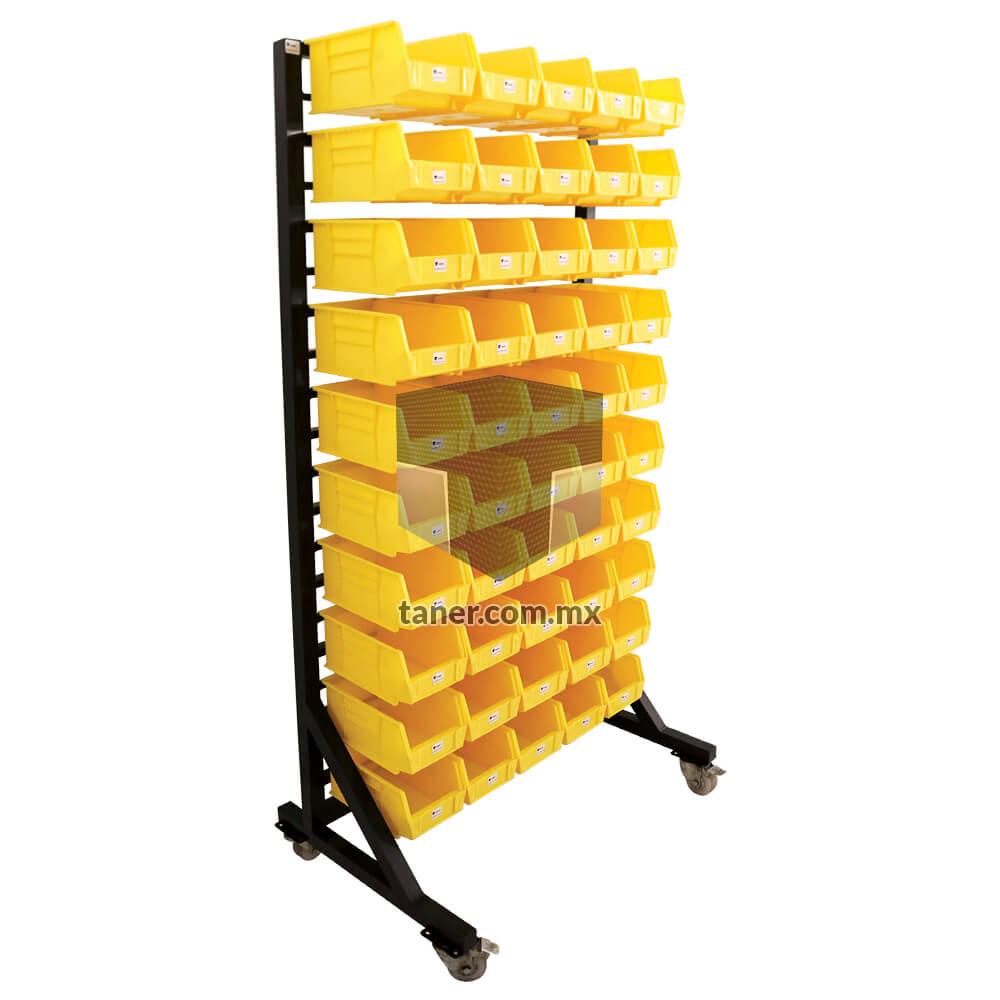 Venta-de-Anaqueles-TANER-Organizadora-de-Espacios-CDMX-Exhibidores-Exhibidor-Sencillo-50-Gavetas-Plásticas-N-3-02