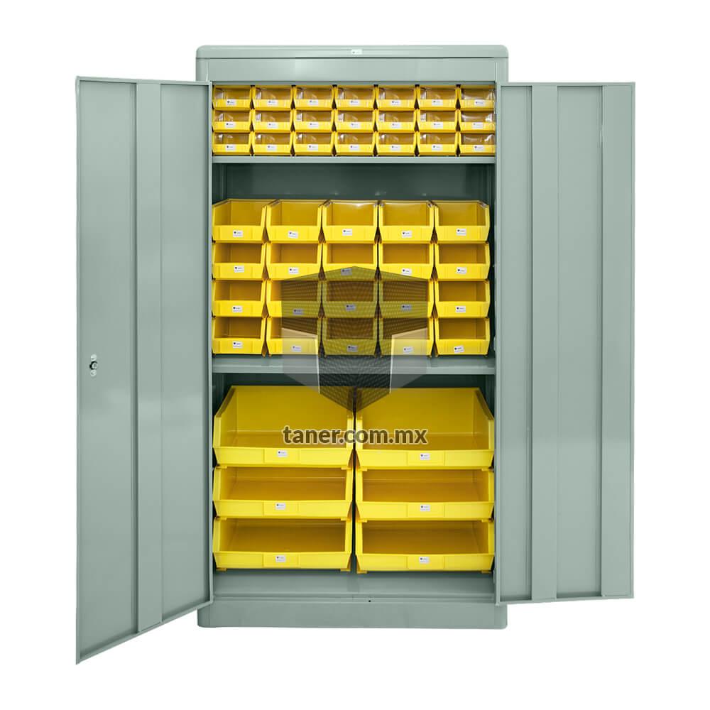 Venta-de-Anaqueles-TANER-Organizadora-de-Espacios-CDMX-Gabinete-Universal-con-Gavetas-Plasticas-01