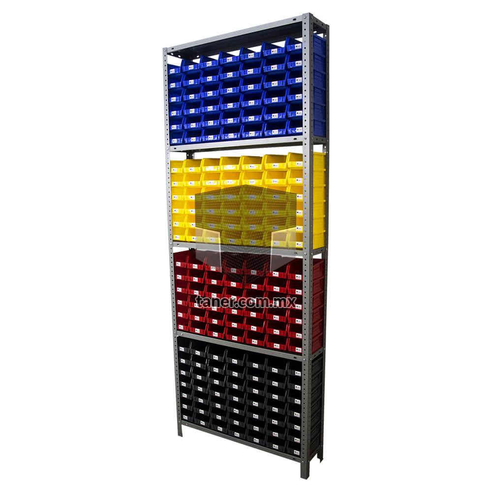 Venta-de-Anaqueles-TANER-Organizadora-de-Espacios-CDMX-Gavetetos-Gavetero-Plástico-N-1-01