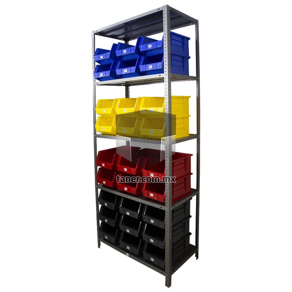 Venta-de-Anaqueles-TANER-Organizadora-de-Espacios-CDMX-Gavetetos-Gavetero-Plástico-N-3-01