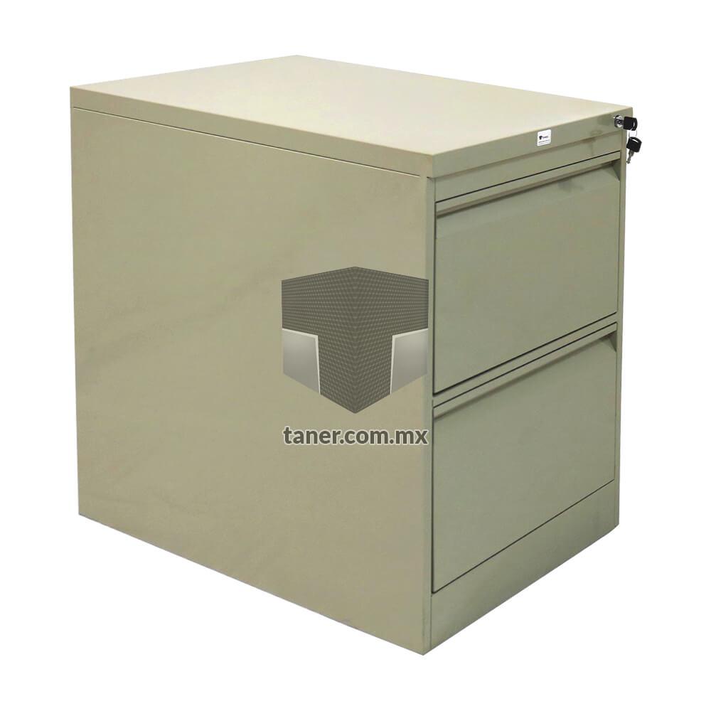 Venta-de-Anaqueles-TANER-Organizadora-de-Espacios-CDMX-Linea-Oficina-Archivero-Vertical-2-Gavetas-03