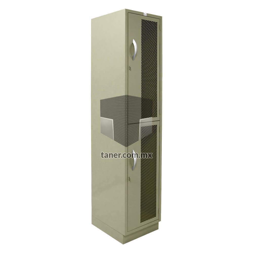 Venta-de-Anaqueles-TANER-Organizadora-de-Espacios-CDMX-Lockers-Locker-2-Puertas-Con-Malla-01