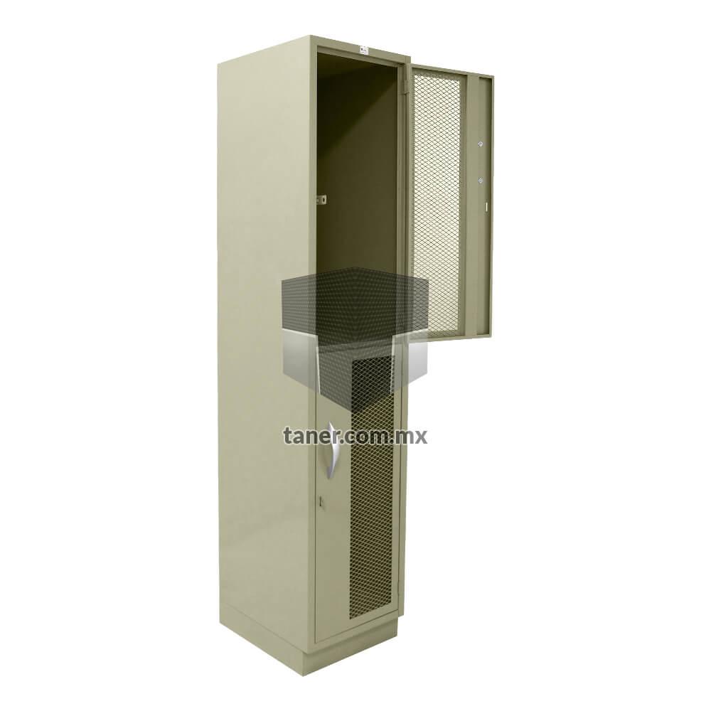 Venta-de-Anaqueles-TANER-Organizadora-de-Espacios-CDMX-Lockers-Locker-2-Puertas-Con-Malla-02