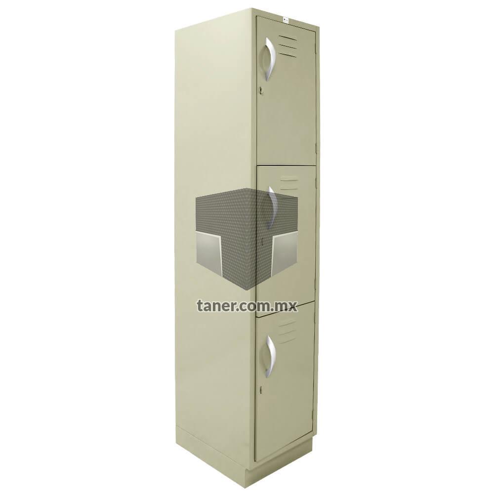 Venta-de-Anaqueles-TANER-Organizadora-de-Espacios-CDMX-Lockers-Locker-3-Puerta-01