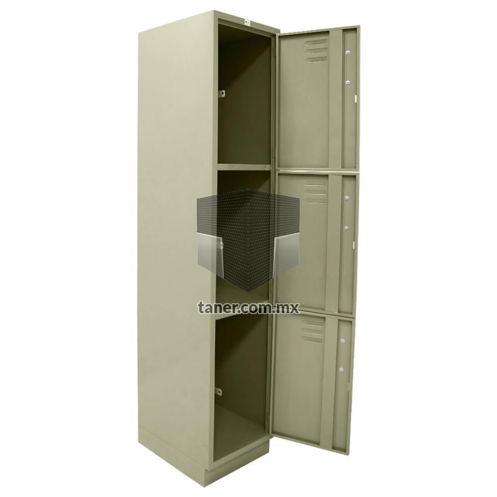 Venta-de-Anaqueles-TANER-Organizadora-de-Espacios-CDMX-Lockers-Locker-3-Puerta-02