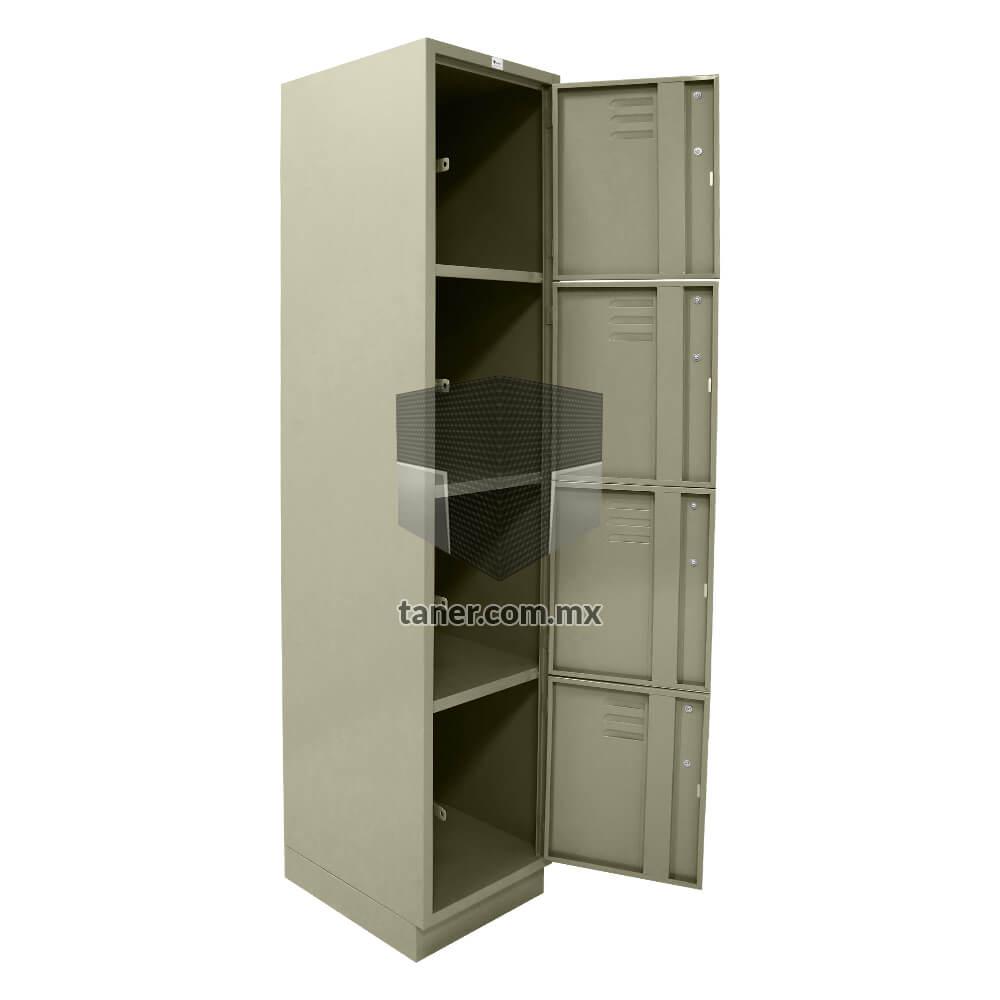 Venta-de-Anaqueles-TANER-Organizadora-de-Espacios-CDMX-Lockers-Locker-4-Puerta-01