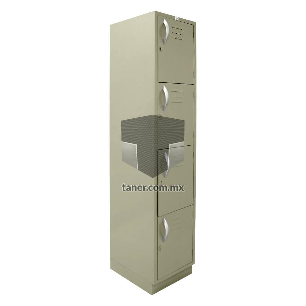 Venta-de-Anaqueles-TANER-Organizadora-de-Espacios-CDMX-Lockers-Locker-4-Puerta-02