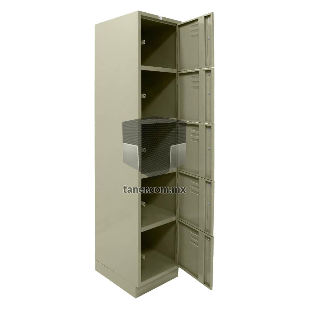 Venta-de-Anaqueles-TANER-Organizadora-de-Espacios-CDMX-Lockers-Locker-5-Puerta-01