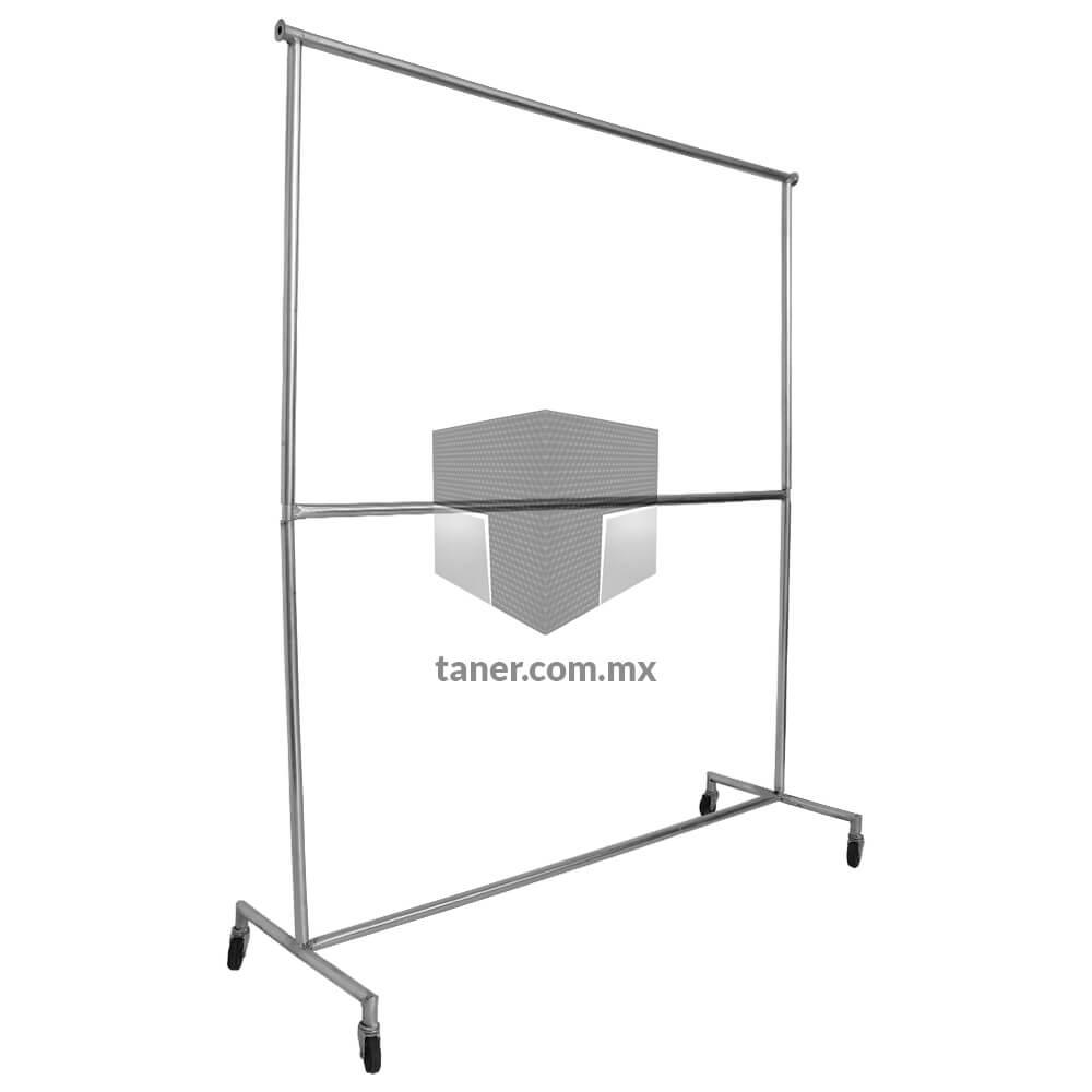 Venta-de-Anaqueles-TANER-Organizadora-de-Espacios-CDMX-Rack-Para-Ropa-Grande-Doble-01