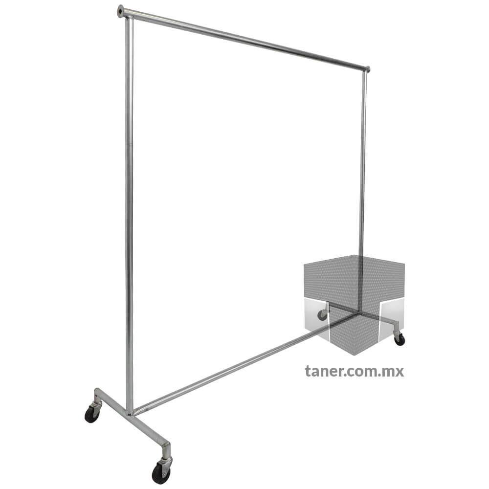 Venta-de-Anaqueles-TANER-Organizadora-de-Espacios-CDMX-Rack-Para-Ropa-Grande-Sencillo-01