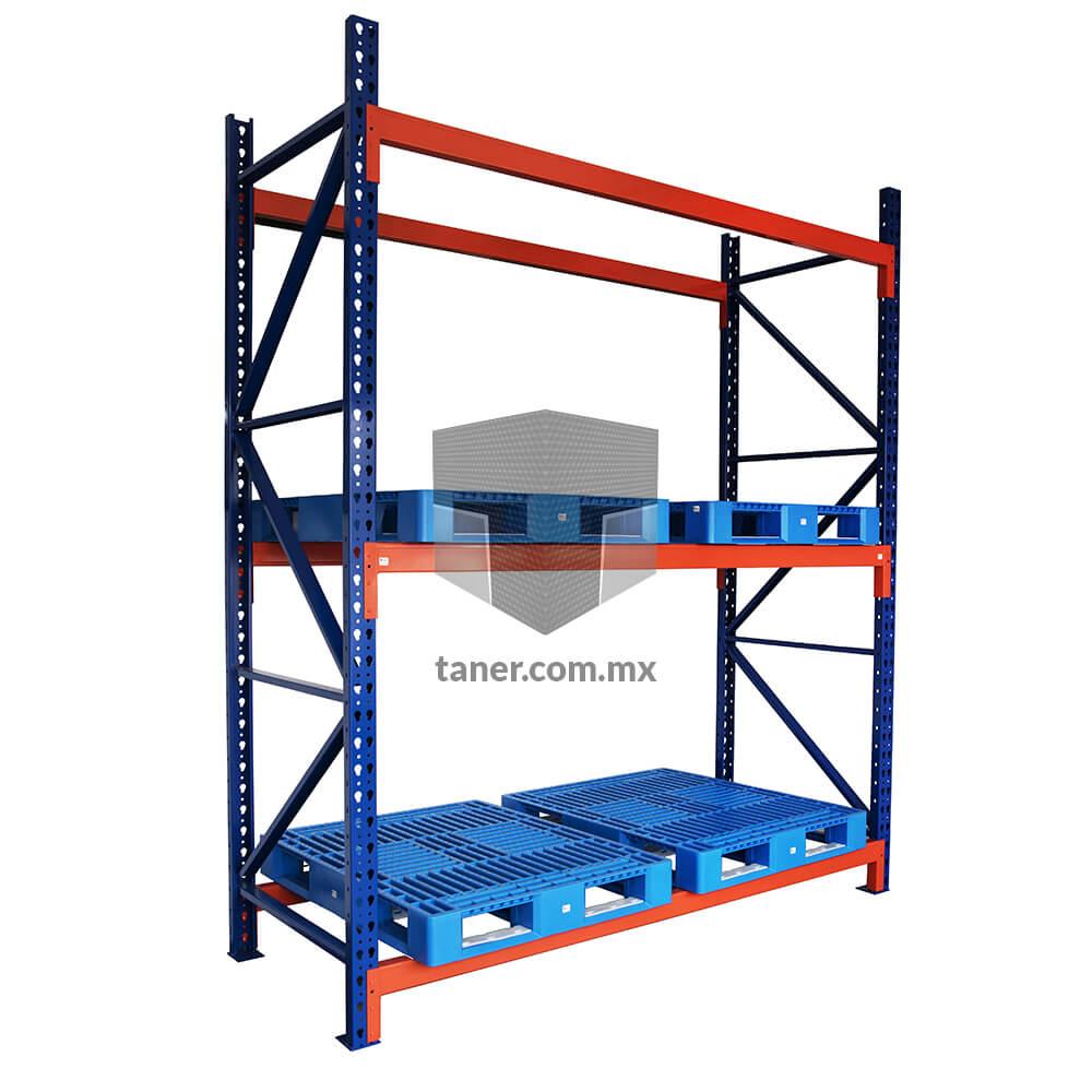 Venta-de-Anaqueles-TANER-Organizadora-de-Espacios-CDMX-Racks-Viga-de-Rack-Industrial-02