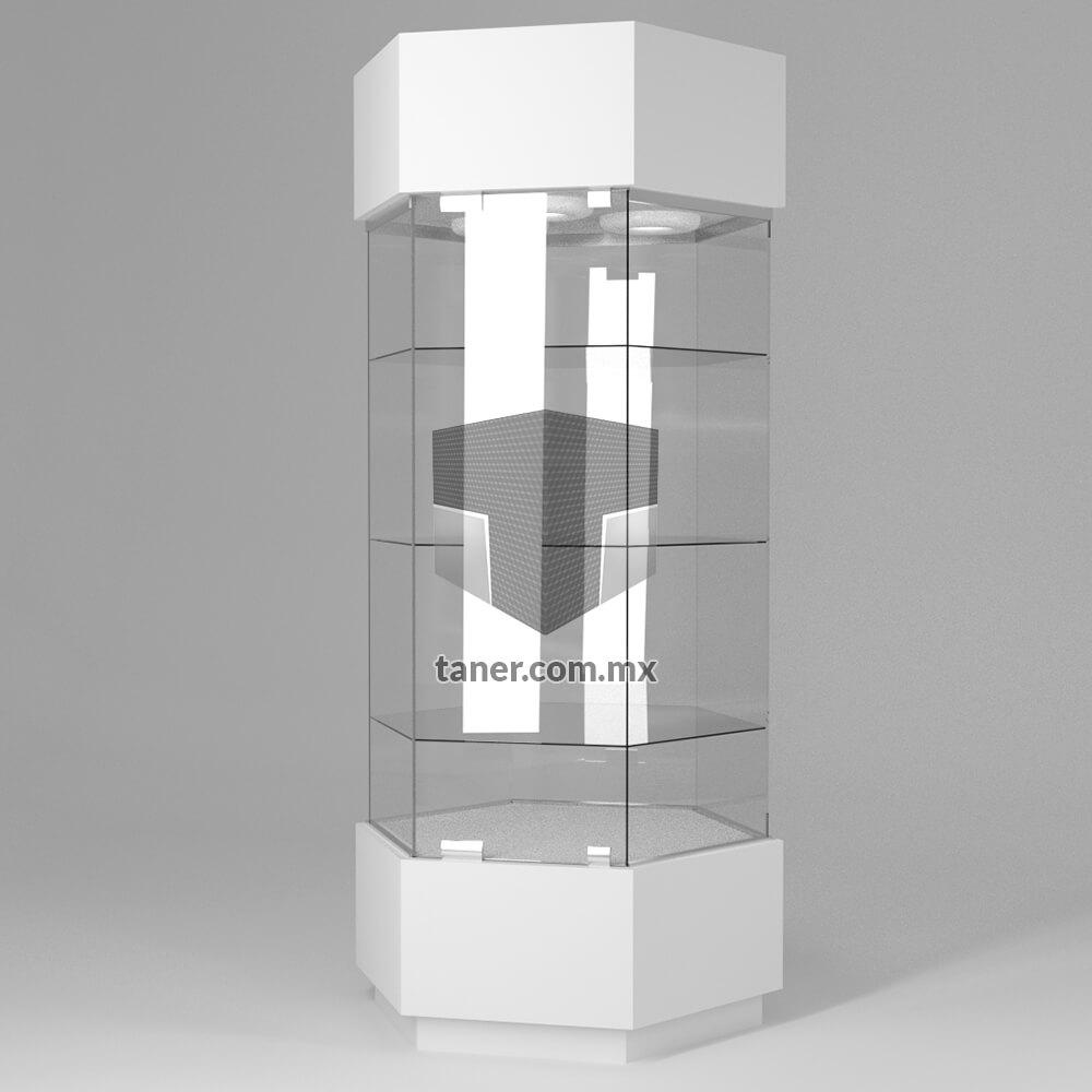 Venta-de-Anaqueles-TANER-Vitrina-Hexagonal-02