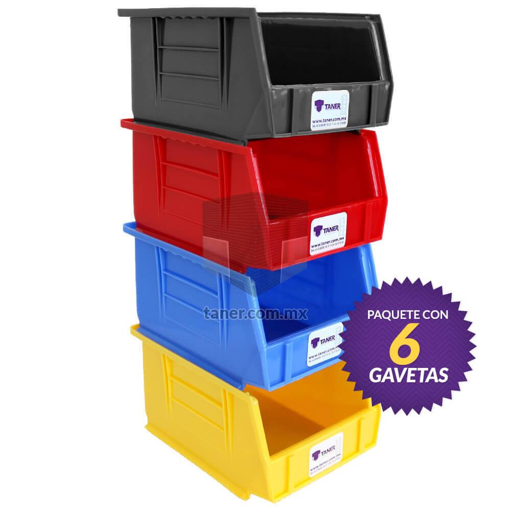 Venta-de-Anaqueles-TANER-Organizadora-de-Espacios-CDMX-Gaveta-Plástica-N1-08