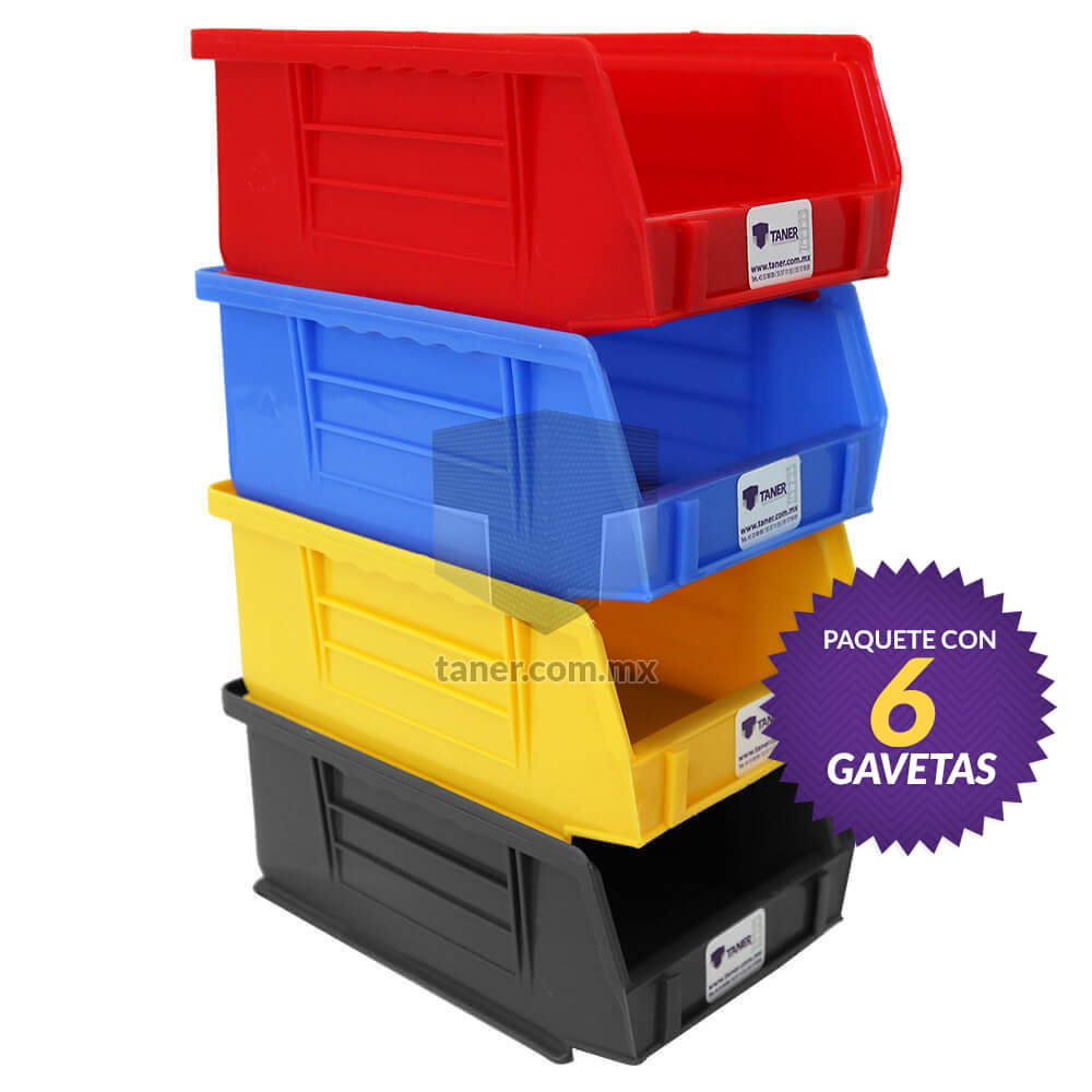 Venta-de-Anaqueles-TANER-Organizadora-de-Espacios-CDMX-Gaveta-Plástica-N2-08